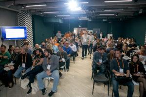 Сотрудники компании ПК РУКАРД на выставке Эвотор Level Up!